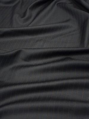Шерсть черная в коричневую полоску (10510) - Фото 28