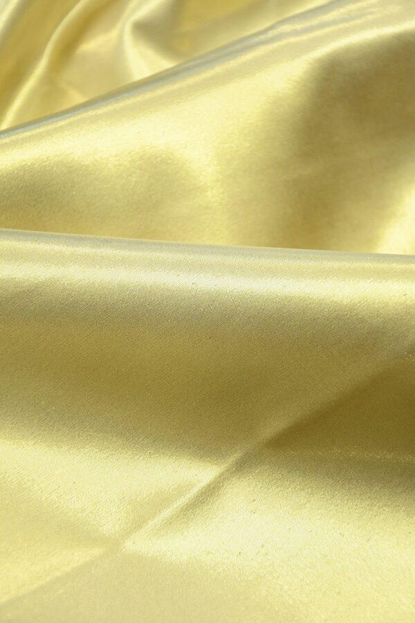 Тафта золотая на хлопковой основе 5