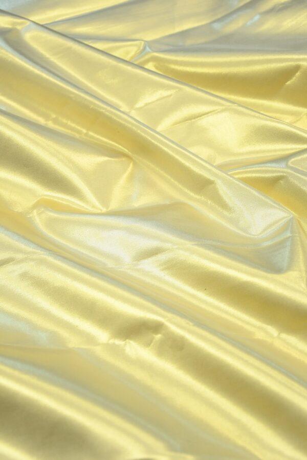 Тафта золотая на хлопковой основе