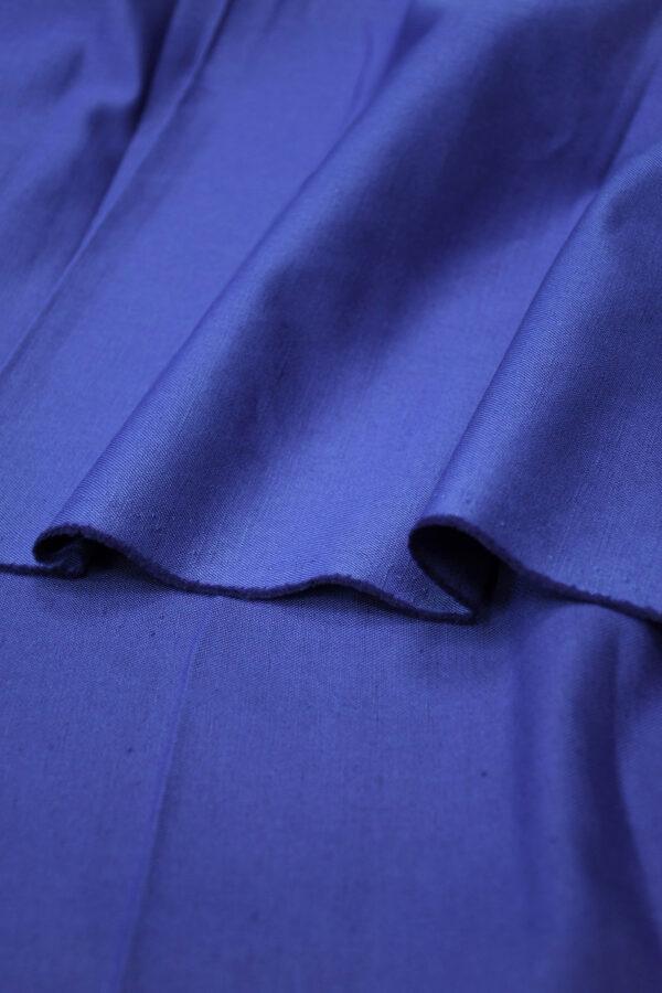 Лен синий электрик 4
