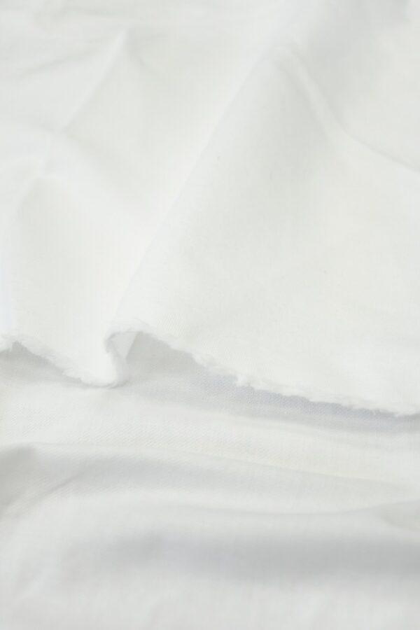 Хлопок белый бархатистый 3