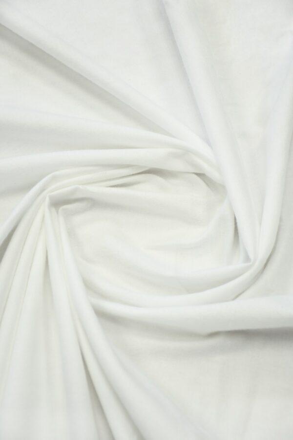 Хлопок белый бархатистый 4
