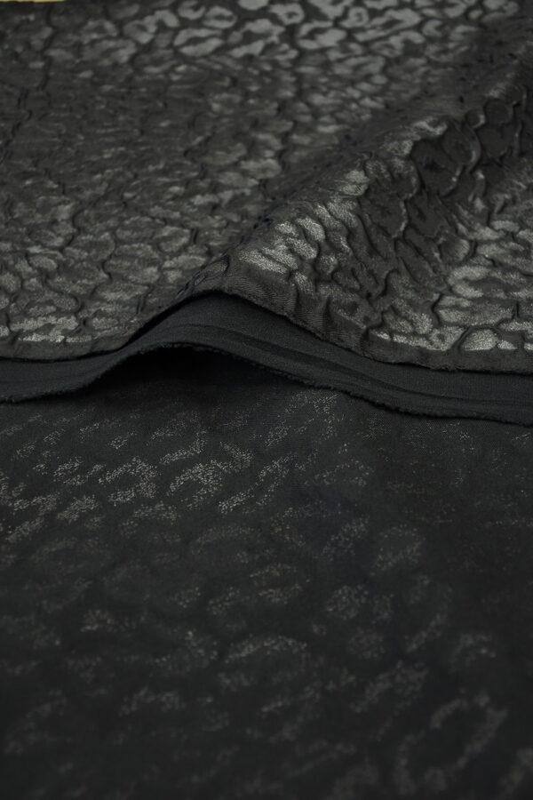 Жаккард черный аллигатор 4