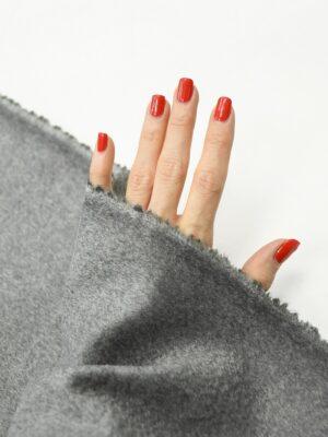 Кашемир пальтовый серый 1