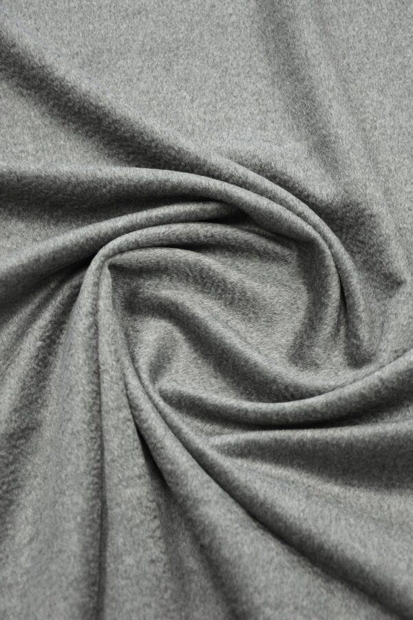 Кашемир пальтовый серый 2