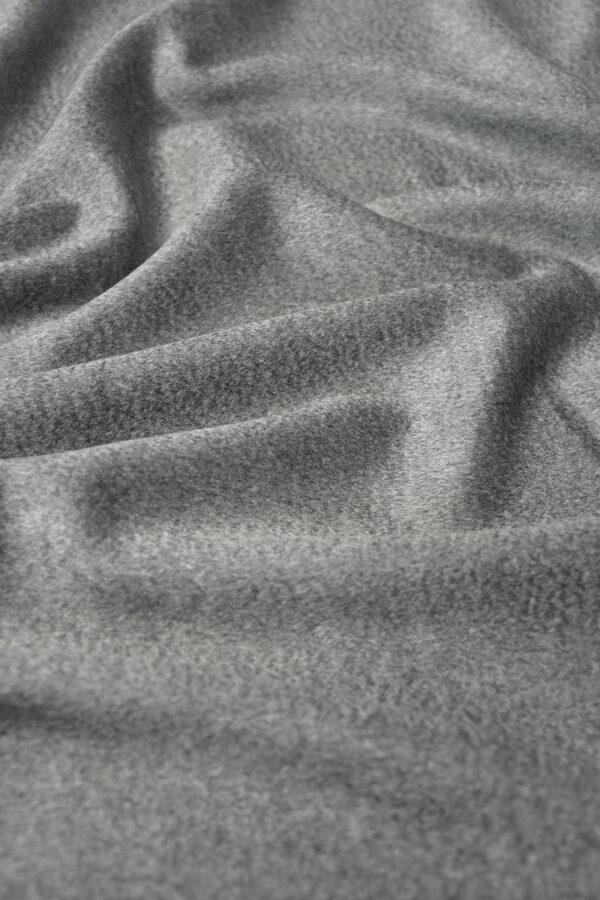 Кашемир пальтовый серый