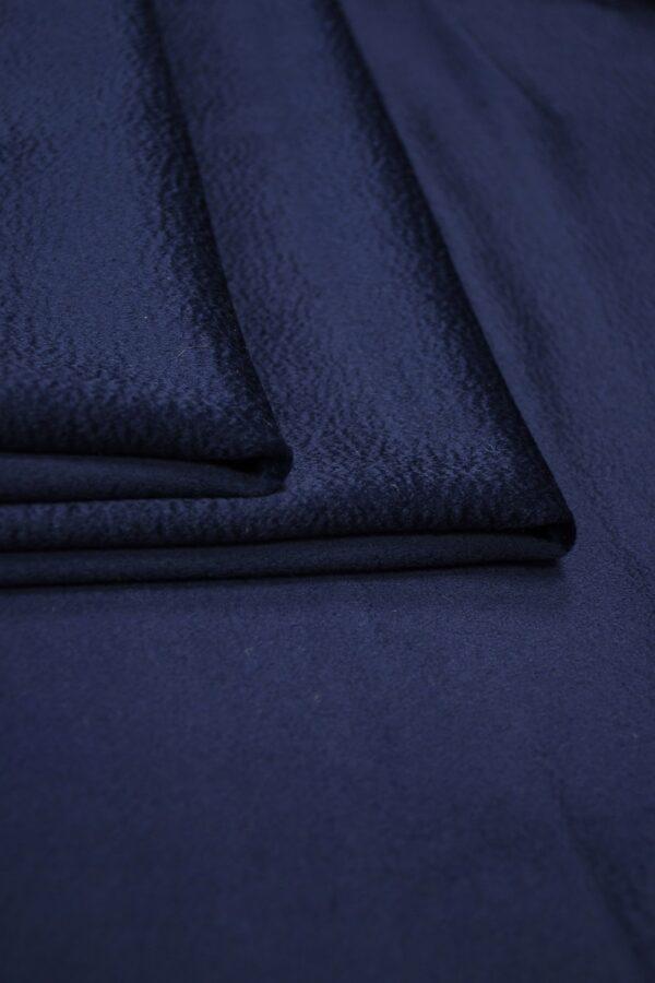 Кашемир пальтовый темно-синий 4