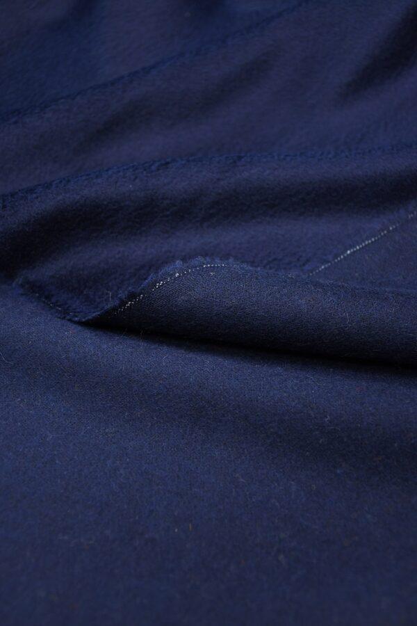 Кашемир пальтовый темно-синий 3