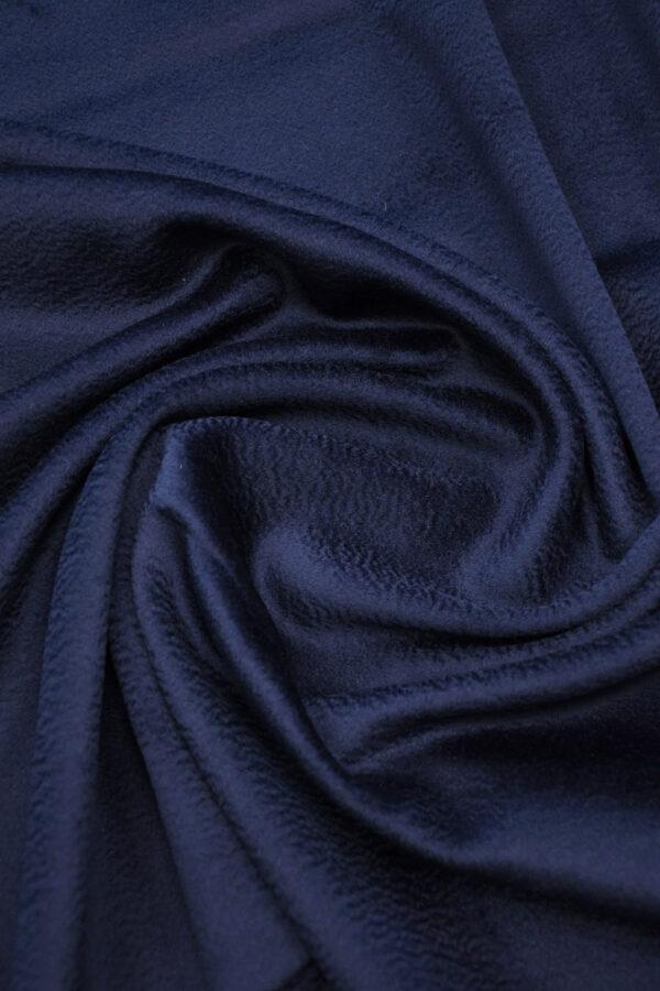 Кашемир пальтовый темно-синий 2