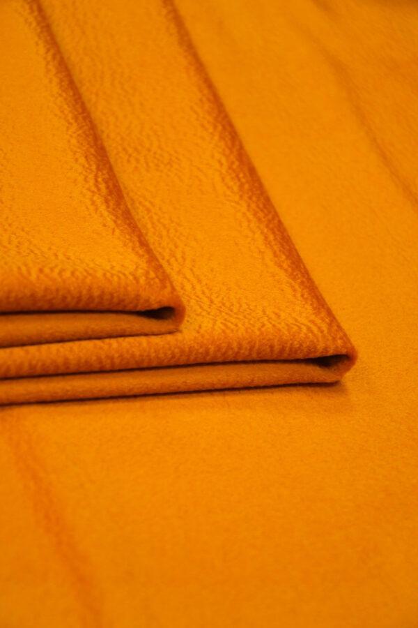 Кашемир пальтовый оранжевый 3