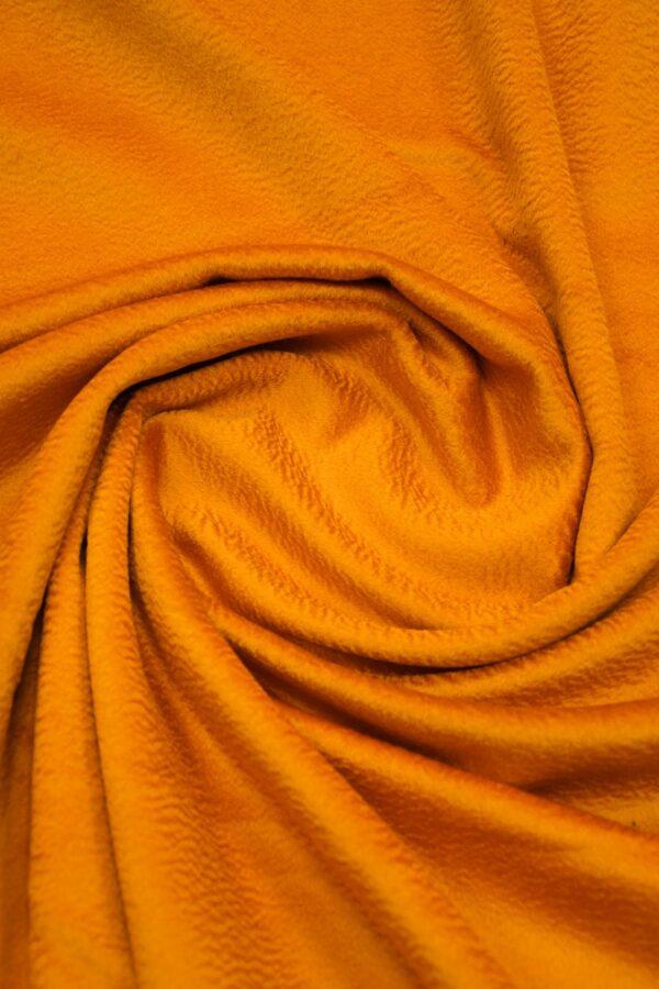Кашемир пальтовый оранжевый 2