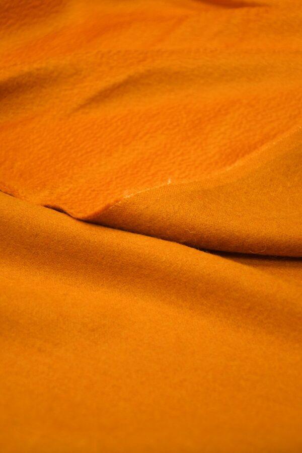 Кашемир пальтовый оранжевый 4