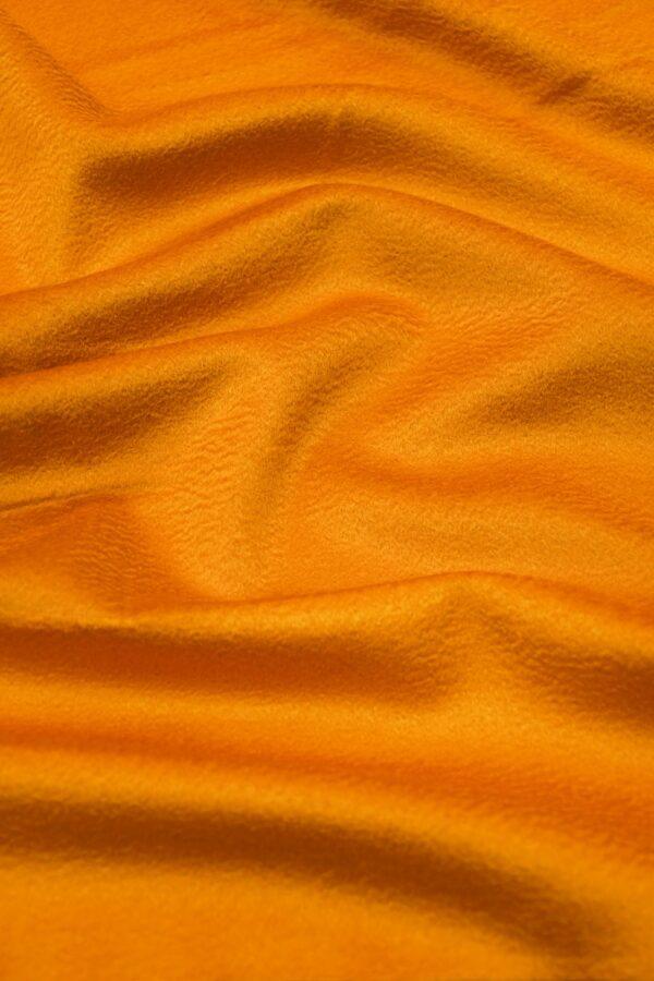 Кашемир пальтовый оранжевый