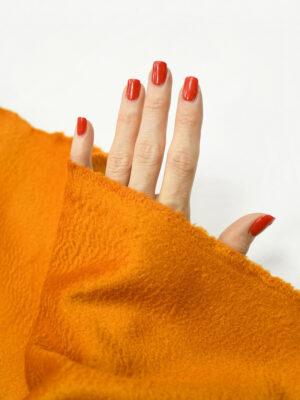 Кашемир пальтовый оранжевый 1