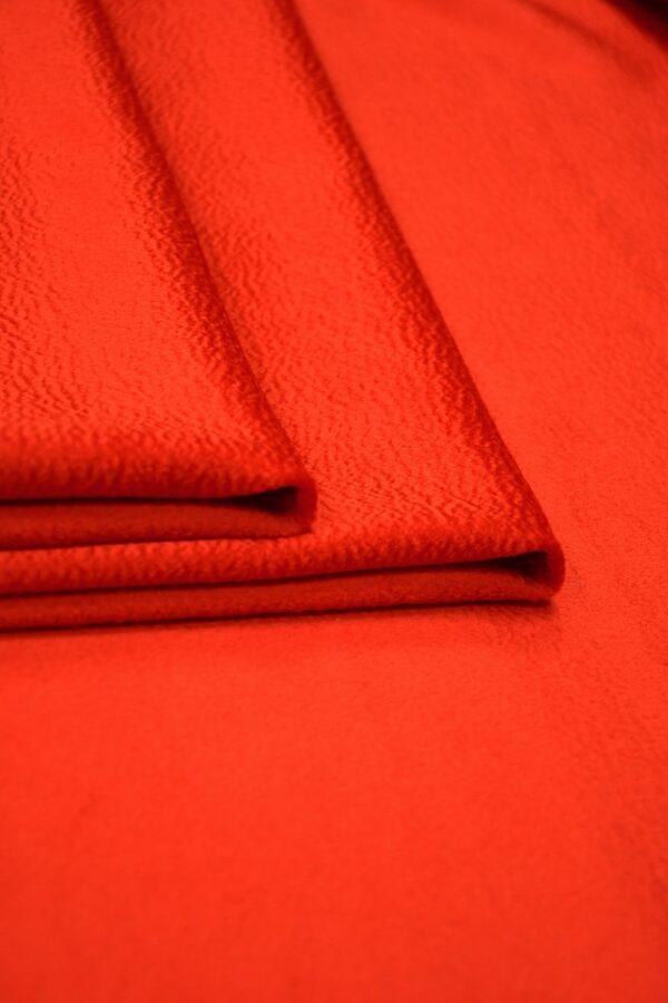 Кашемир пальтовый красный 5