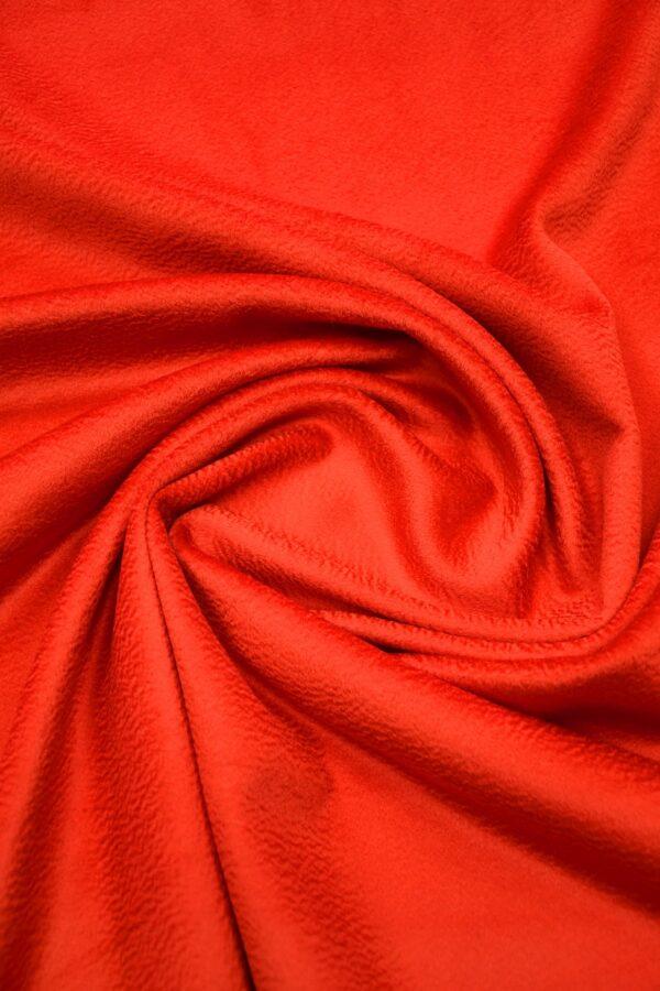 Кашемир пальтовый красный 2