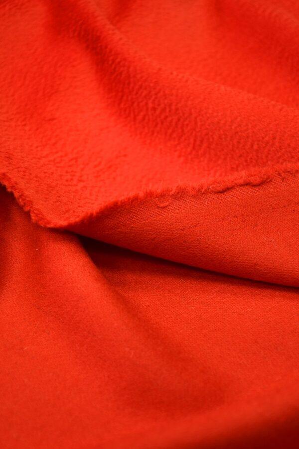 Кашемир пальтовый красный 3