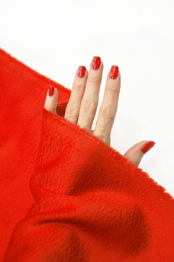 Кашемир пальтовый красный 1