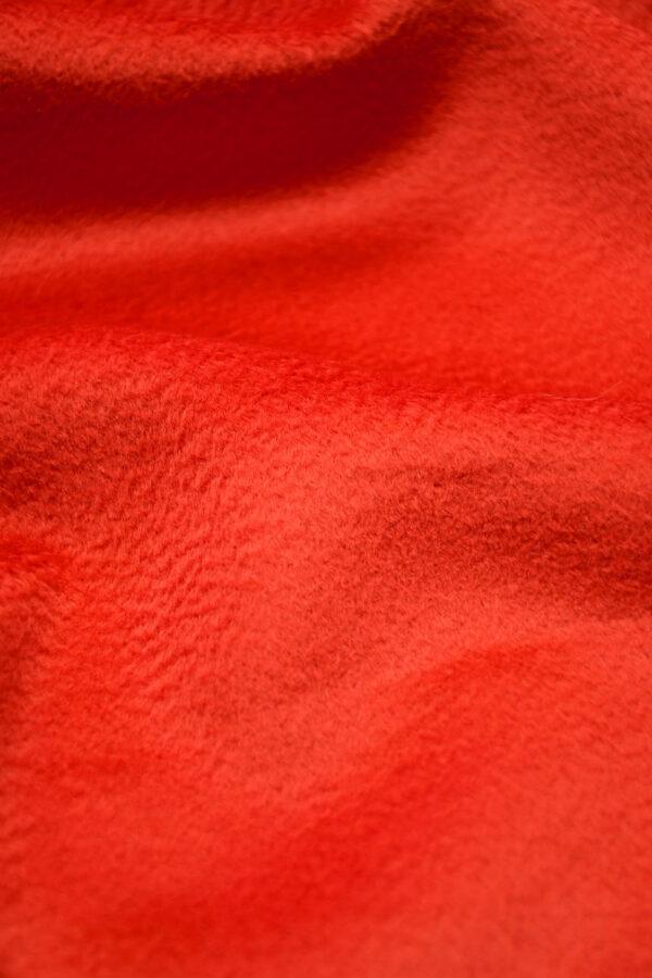 Кашемир пальтовый красный 4