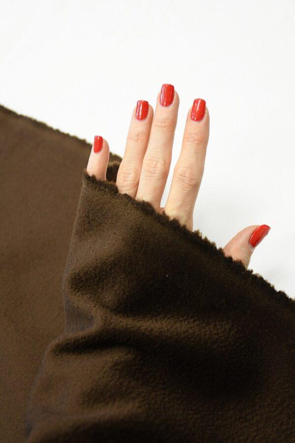 Кашемир пальтовый коричневый 1