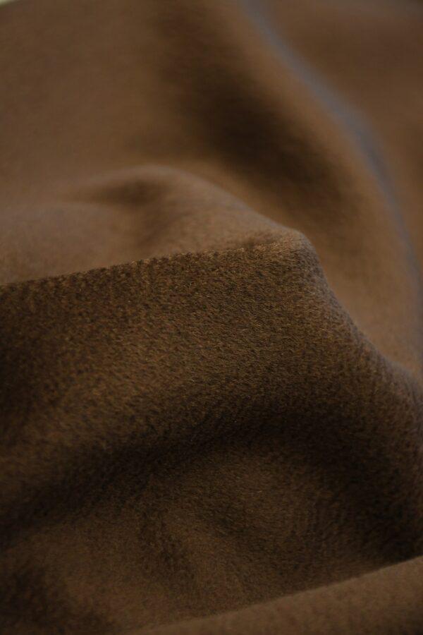 Кашемир пальтовый коричневый 5