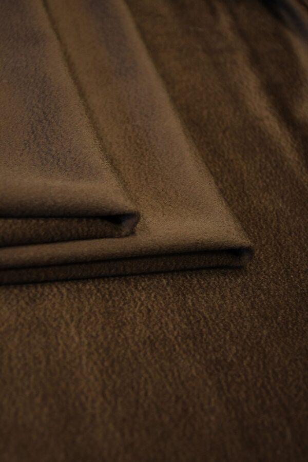 Кашемир пальтовый коричневый 4