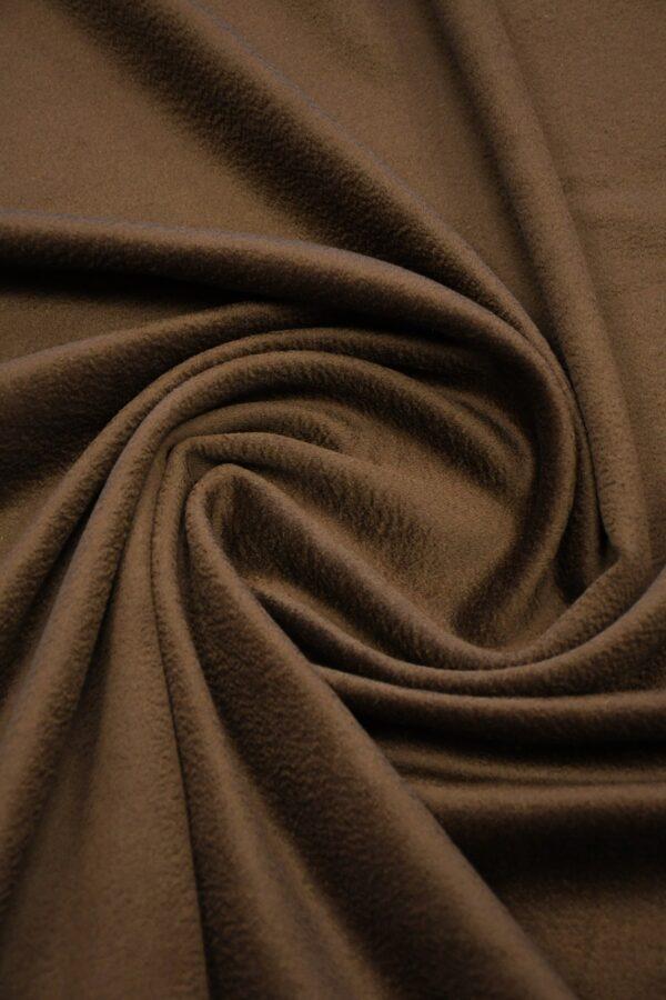 Кашемир пальтовый коричневый 2