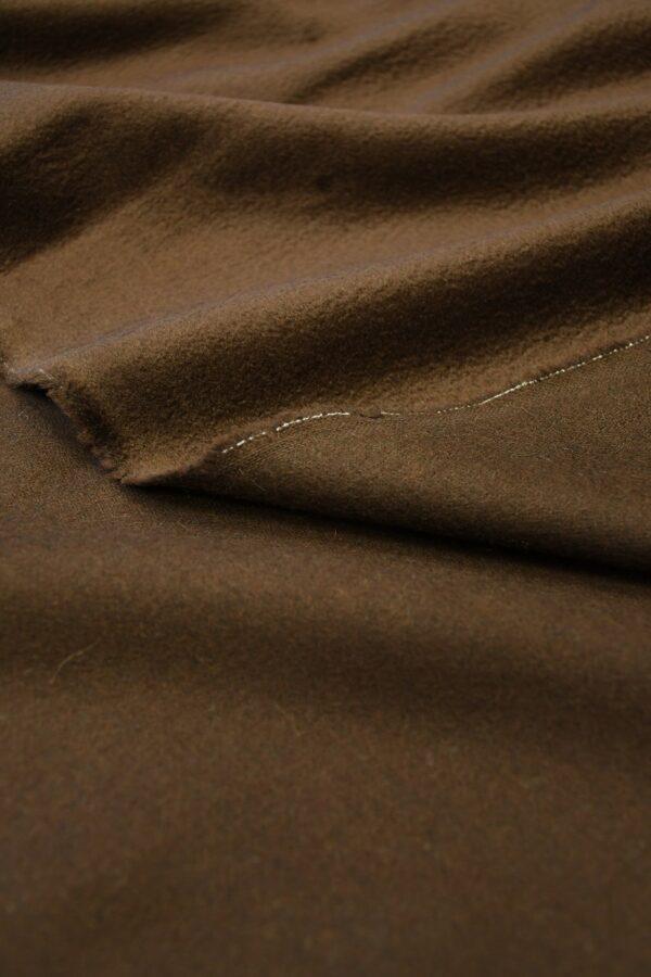 Кашемир пальтовый коричневый 3
