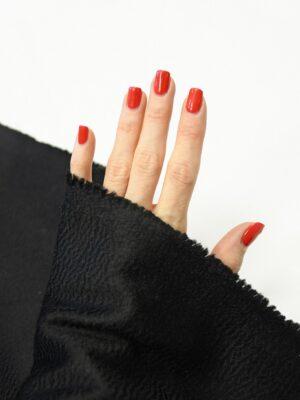 Кашемир пальтовый черный 1