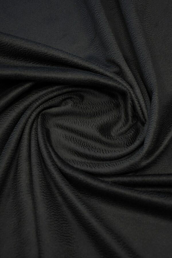 Кашемир пальтовый черный 2
