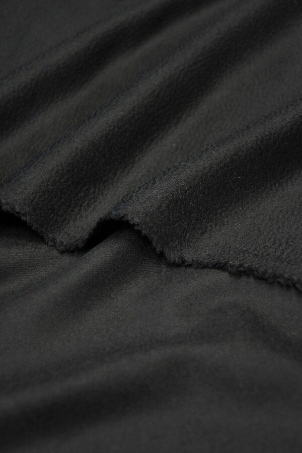 Кашемир пальтовый черный 4