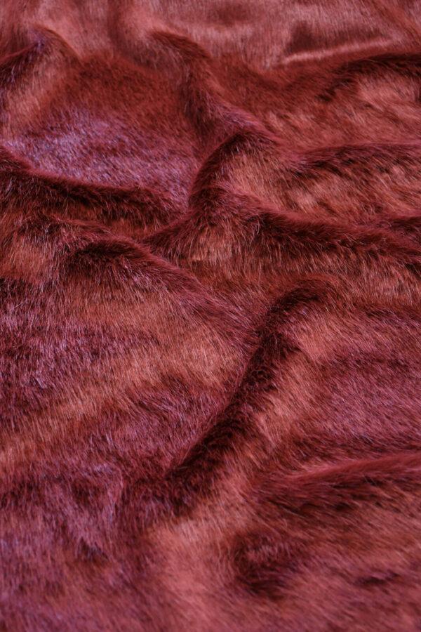 Экомех скандинавская норка бордовая (10564) - Фото 10