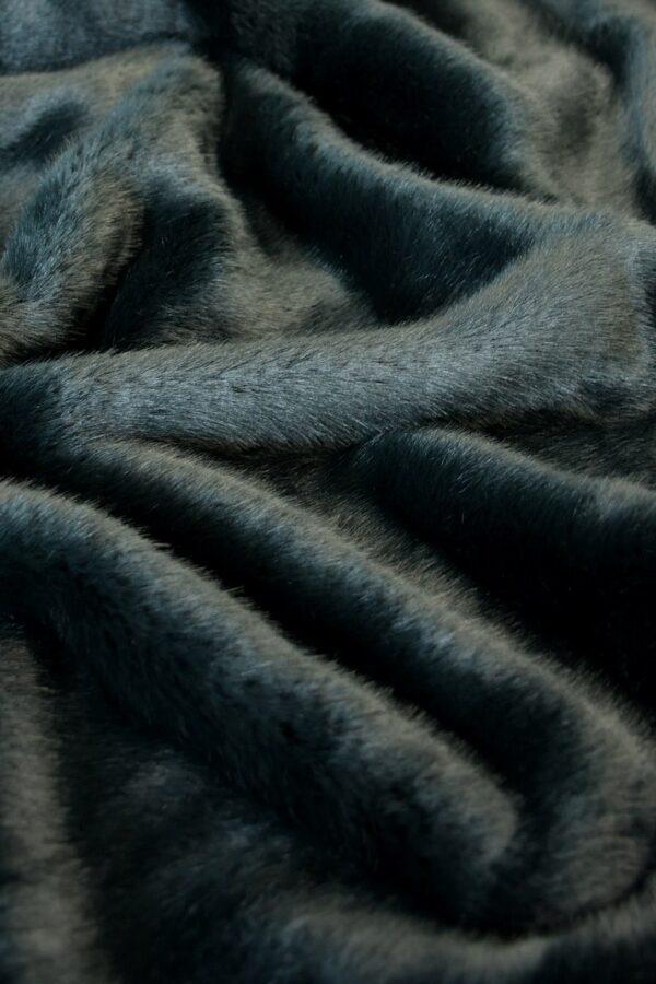 мех норка серый
