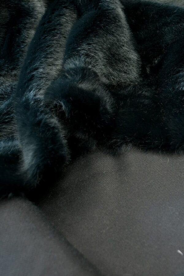 Искусственный мех скандинавская норка темный бирюза (10568) - Фото 8