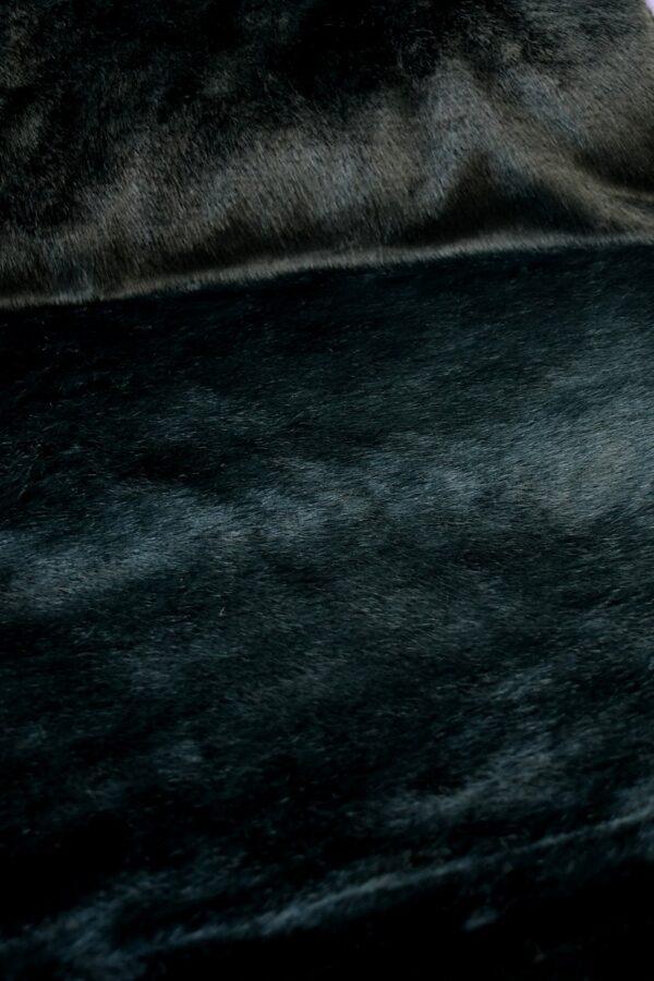 Искусственный мех скандинавская норка темный бирюза (10568) - Фото 10