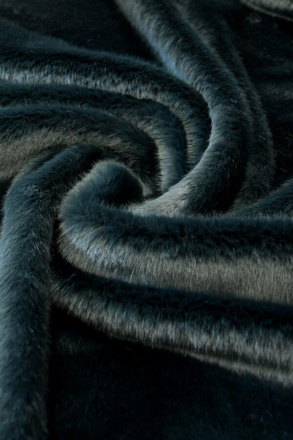 Искусственный мех скандинавская норка темный бирюза (10568) - Фото 7