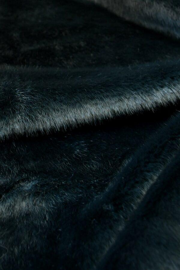 Искусственный мех скандинавская норка темный бирюза (10568) - Фото 9
