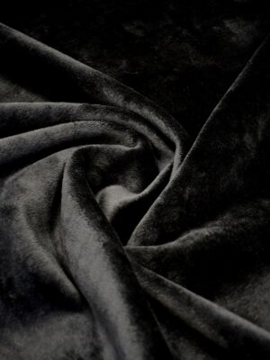 Дубленка кади черная (10569) - Фото 11