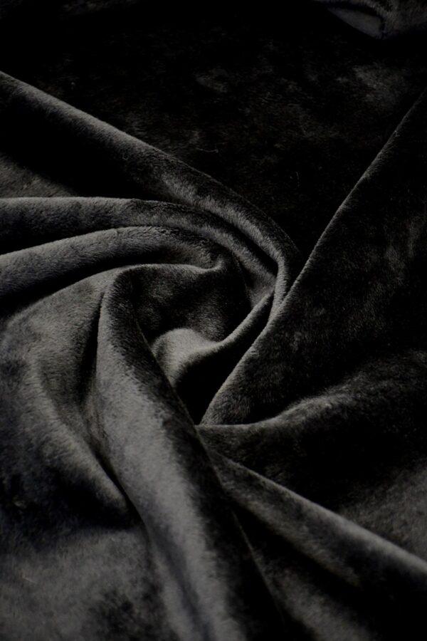 Дубленка кади черная (10569) - Фото 7