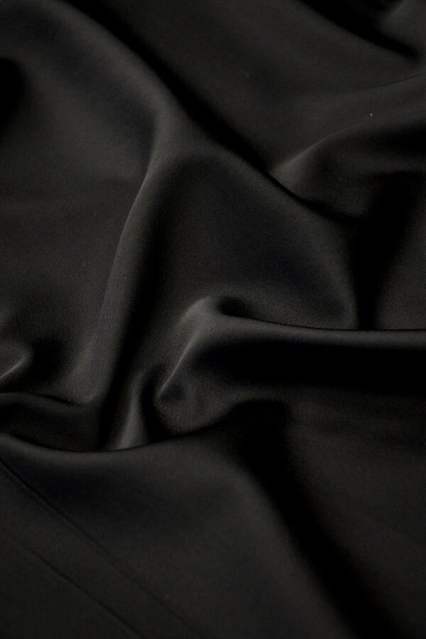 Дубленка кади черная (10569) - Фото 9