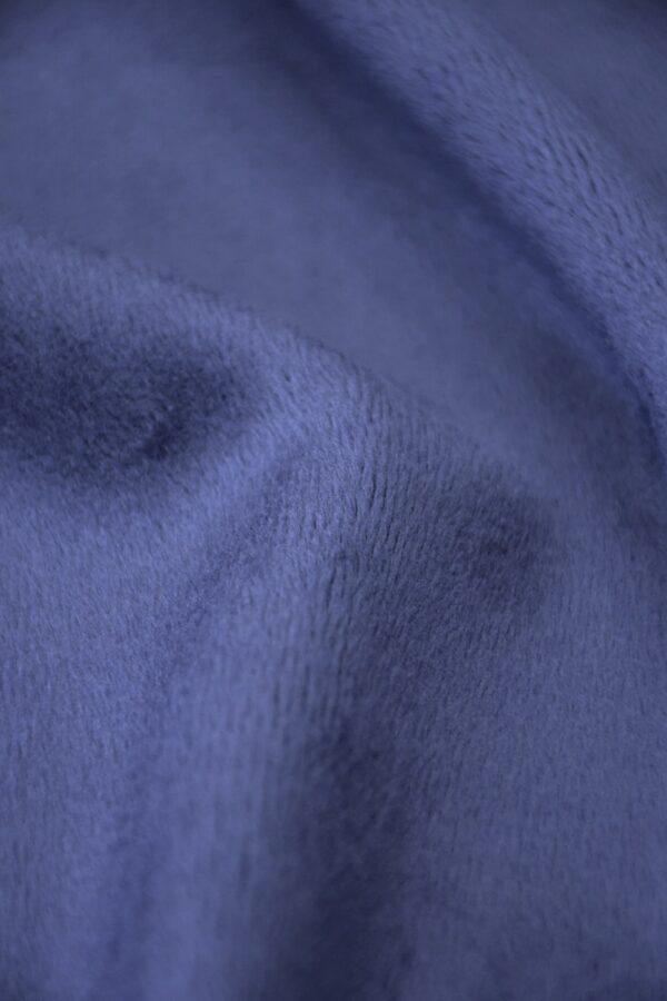 Флис стрейч темно сиреневый (10575) - Фото 10