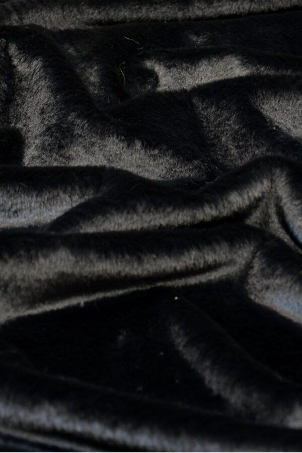 мех кролик черный