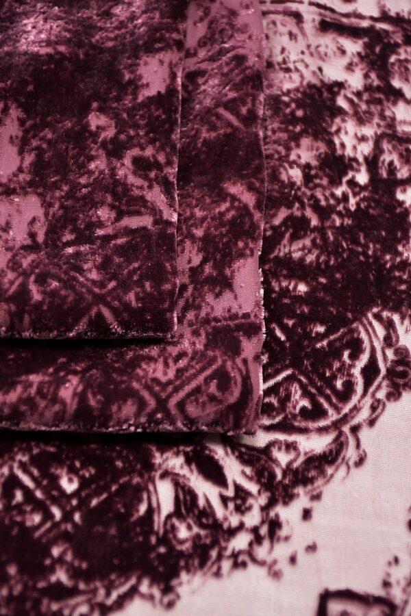 Панбархат темно-лиловый майолика (10600) - Фото 10