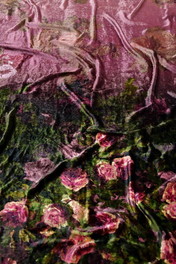 Бархат чайная роза
