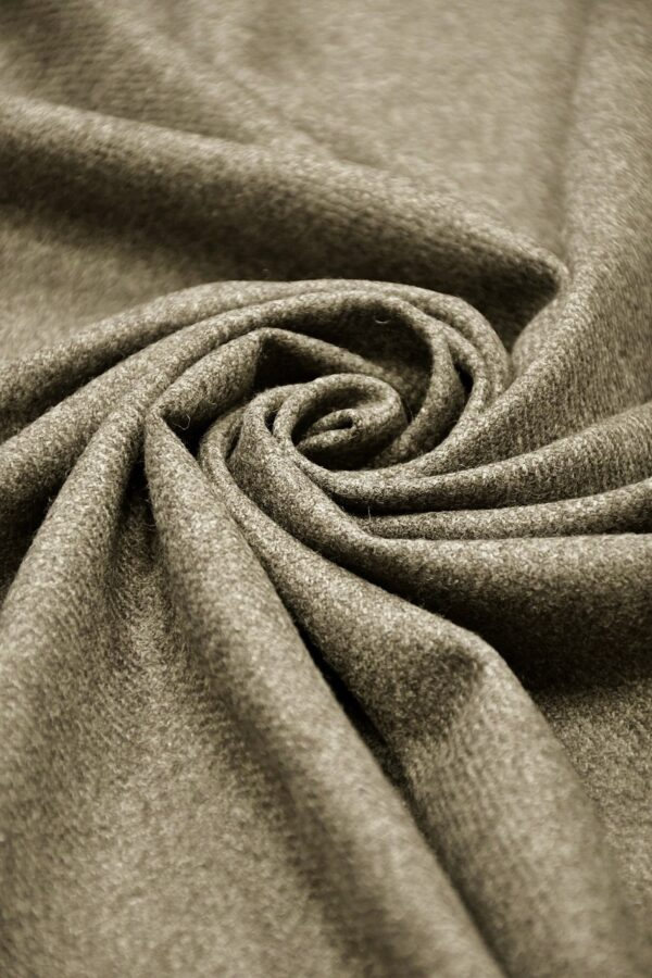 Твид кашемир серый меланж (10620) - Фото 7