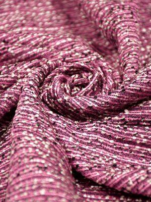 Шанель шерсть лиловый