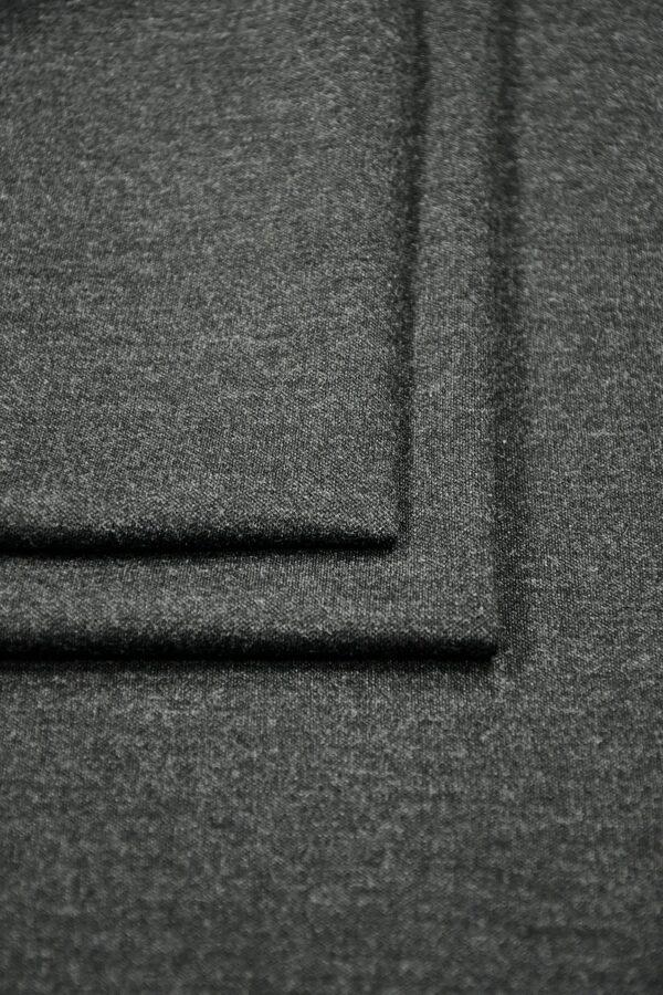 Джерси меланж серый графит