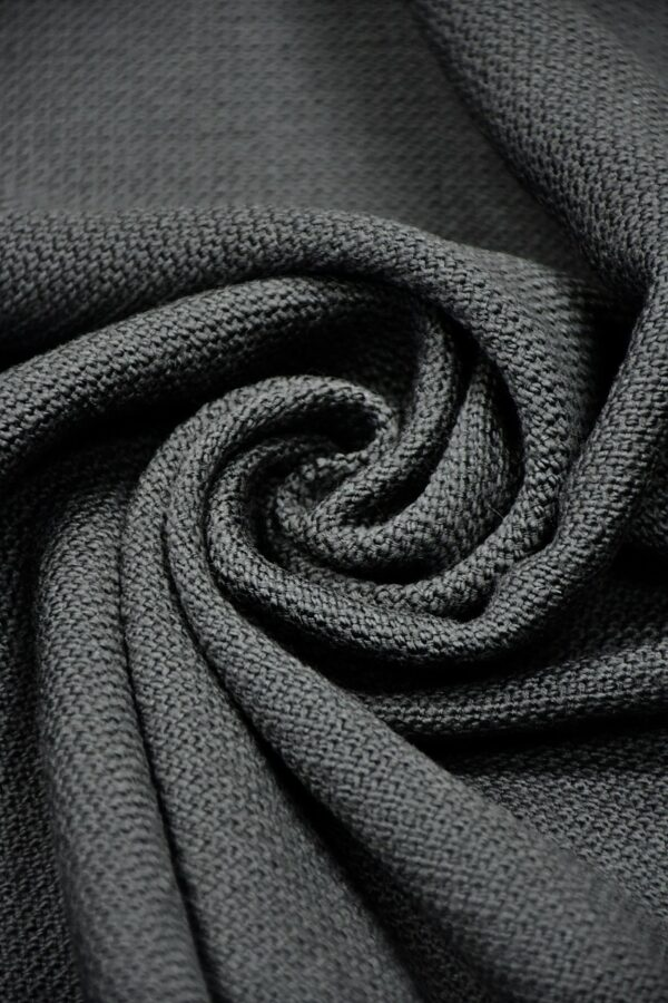 Шанель твид темно-серый