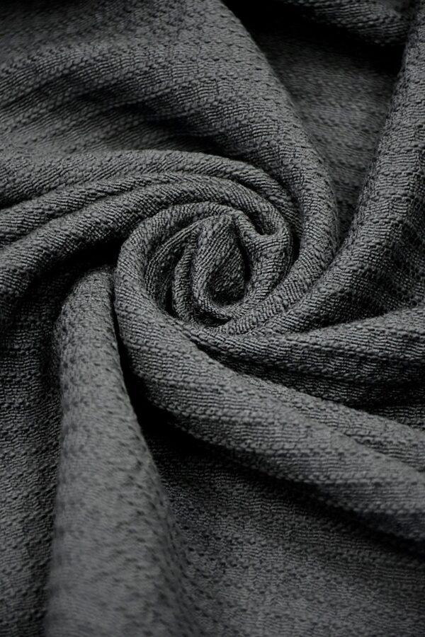 Шанель твид дымчато-серый
