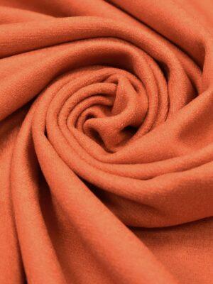 Лоден шерсть оранжевый